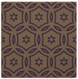 rug #926205 | square purple damask rug