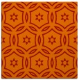 rug #926217 | square red damask rug
