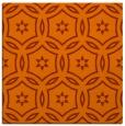rug #926229   square red-orange circles rug