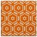 rug #926241   square red-orange circles rug