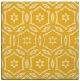 rug #926269   square yellow circles rug