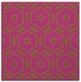 rug #926301 | square pink damask rug