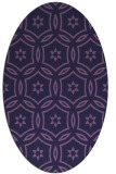 rug #926426 | oval geometry rug