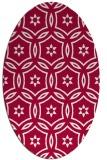 rug #926446 | oval geometry rug