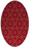 rug #926451 | oval geometry rug