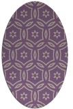 rug #926509   oval beige damask rug