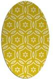 rug #926609   oval white geometry rug
