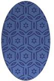 rug #926616 | oval circles rug