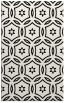rug #926689 |  black circles rug