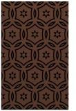 rug #926701 |  black damask rug