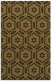 rug #926705 |  mid-brown circles rug