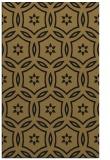 rug #926713 |  black damask rug
