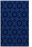 rug #926717 |  blue circles rug
