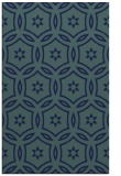 rug #926725 |  blue circles rug