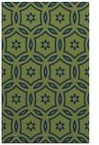 rug #926729 |  green circles rug