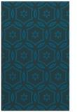 rug #926753 |  blue circles rug