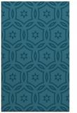 rug #926757 |  blue-green circles rug