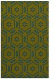 rug #926765 |  green circles rug