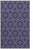 rug #926777 |  blue-violet circles rug
