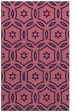 rug #926781 |  pink circles rug