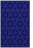 rug #926789 |  blue-violet damask rug