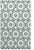 rug #926821 |  green damask rug