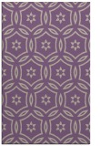 rug #926869 |  purple geometry rug