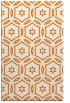 rug #926889 |  orange damask rug