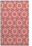 rug #926909 |  pink circles rug