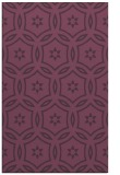 rug #926917    purple circles rug
