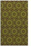 rug #926921 |  green circles rug