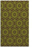 rug #926921 |  green damask rug