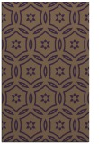 rug #926925 |  mid-brown circles rug