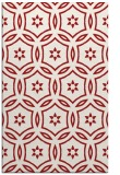 rug #926941 |  red circles rug