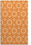 rug #926953    red-orange circles rug