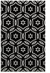 rug #926965 |  black damask rug