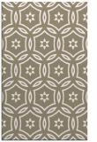 rug #926985 |  beige circles rug