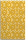 rug #926989 |  yellow circles rug