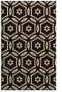 rug #926997    brown circles rug