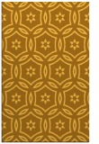 rug #927005 |  yellow circles rug