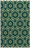 rug #927009 |  yellow damask rug