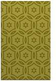 rug #927013    light-green circles rug