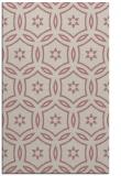 rug #927033 |  pink circles rug