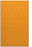 rug #927037 |  light-orange circles rug