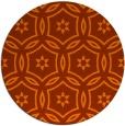 rug #927048 | round geometry rug