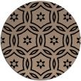 rug #927057 | round black circles rug