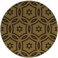rug #927065   round black damask rug