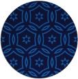 rug #927077 | round blue circles rug