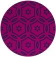 rug #927081 | round blue geometry rug
