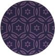 rug #927146 | round damask rug